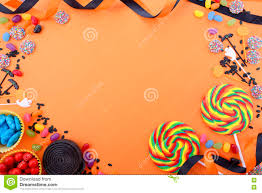 Happy Birthday Halloween Pictures Happy Halloween Candy Background Stock Photo Image 75567197