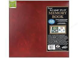 scrapbook album 12x12 pioneer 12x12 burgundy leatherette scrapbook album memory book