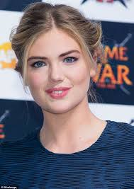 who is the blonde in the game of heroes commercial kate upton in grecian dress as she promotes game of war fire age