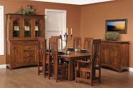 Mission Dining Room Chairs by Hardwood Mission Trestle Table