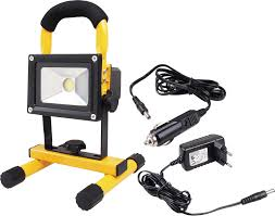 battery powered emergency lights 20w portable high powered rechargeable led work light battery