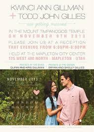 lds wedding invitations wedding invitations utah wedding corners