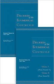 Ecumenical Councils Of The Catholic Church Definition Amazon Com Decrees Of The Ecumenical Councils 2 Volume Set