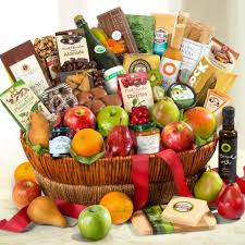 gourmet gift basket motherlode grand fruit and gourmet gift basket aa4068 a gift