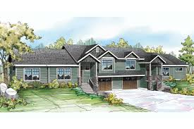 100 split foyer house plans mill spring cottage house plan