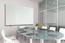 Modern Glass Office Desk by Glass Writing Boards D U0026g Office Interiors