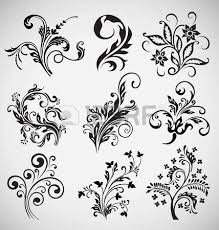 flower ornament vector royalty free cliparts vectors and stock