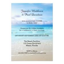 post wedding reception invitations post wedding party invitations announcements zazzle