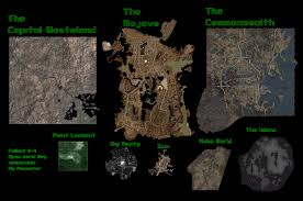 Fallout 3 Locations Map by Other Examining Fnv U0027s Map Possible Minor Spoilers Fallout