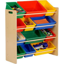 Kid Toy Storage | honey can do kid s toy organizer with 12 storage bins multicolor
