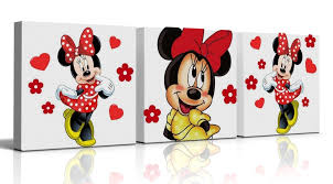minnie mouse wall decor design ideas and decor image of minnie mouse bedroom accessories uk red