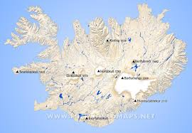 Iceland Map Location Iceland Physical Map