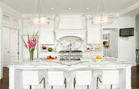 Traditional French Kitchens - calacatta marble french kitchen bradford designs