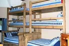 Bunk Bed For 3 Three Tier Bunk Bed 3 Level Bunk Bed Uk Golbiprint Me