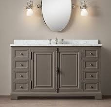Restoration Hardware Bathroom Cabinet by Love The Restoration Hardware French Casement Vanity Click Image