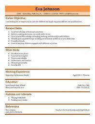 Hobbies Resume Examples by Download Babysitter Resume Sample Haadyaooverbayresort Com