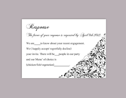 free wedding rsvp template diy wedding rsvp template editable text word file rsvp