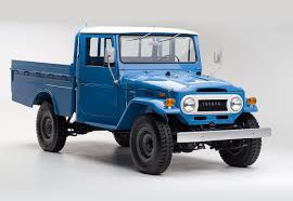 land rover pickup truck 1974 toyota land cruiser fj45 is a period correct time capsule