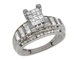 cinderella engagement ring cinderella real princess baguette diamond wedding ring 10k
