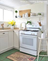 country living kitchen ideas open shelving ideas how to style town country living