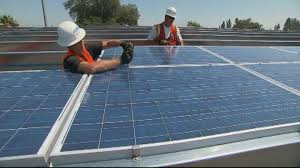 why is it to solar panels slaps big tariffs on imported solar panels in major