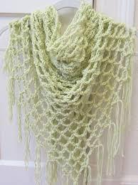 crochet pattern open lace arch stitch spring summer shawl pattern