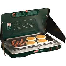 Two Burner Gas Cooktop Propane Coleman Matchlight 10 000 Btu 2 Burner Propane Stove Walmart Com