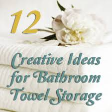 Towel Storage For Bathroom by Towel Storage Ideas For Small Bathroom Bathroom Towel Storage