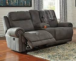 Sofa Recliners Austere Power Reclining Loveseat With Console Home Ideas