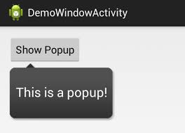 android popup menus and popups codepath android cliffnotes