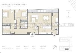 Bedroom Floor Planner by Floor Plans City Walk Jumeirah By Meraas