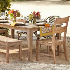 Harrows Outdoor Furniture by A Hand Applied Natural Finish With Black Distressing Highlights
