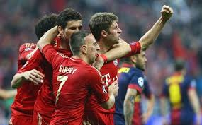 Pertandingan Barcelona vs Bayern Munchen