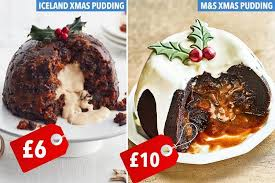 iceland u0027s new 6 melt in the middle christmas pudding is half the