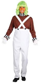 oompa loompa costume oompa loompa choclate factory worker mens fancy dress by