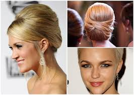 Einfache Hochsteckfrisurenen Kinnlanges Haar by Elegante Hochsteckfrisuren Mittellanges Haar Bob Frisuren