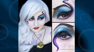 ursula cosplay makeup tutorial youtube
