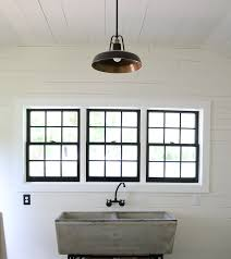 Sink For Laundry Room by Our New Laundry Room Faucet For Our Vintage Concrete Sink