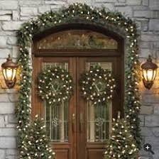 Outdoor Lighted Garland Outdoor Lighted Garland Home Design Ideas And Pictures