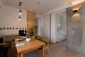 remarkable divider wall with door design featuring large