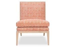 Armless Slipper Chair Slipper Chair Safomasi Bamboo Rust