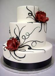 black and white wedding cakes black and white wedding cakes 7 jpg