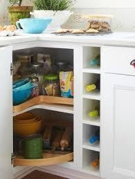 Corner Kitchen Cabinet Solutions by Kitchen Corner Cabinet Ideas I Love Our Corner Cabinet That