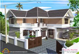 kerala home design kottayam renovation house existing ground floor and proposed first floor