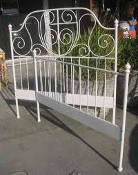 Steel Headboards For Beds Bed Frames Wallpaper Hi Res Antique Wrought Iron Beds For Sale