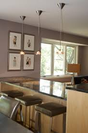 decoration in hanging lights over kitchen bar pertaining to house
