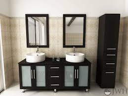 Modern Vanity Units For Bathroom by Floating Wood Vanity With A Mid Century Flair Surripui Net