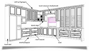 kitchen cabinet diagram beautiful kitchen cabinet diagrams awesome home design