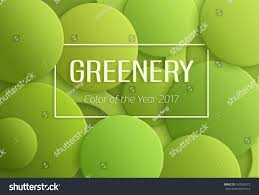 color year 2017 greenery pantone abstract stock illustration
