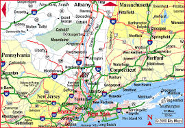 highway map of new york state south aaccessmaps